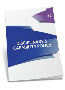 disciplinary and capability policy