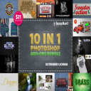 10 IN 1 Photoshop Add-Ons Bundle | Other Files | Graphics