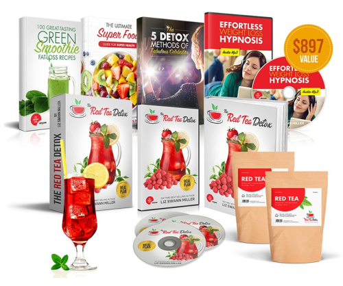 Second Additional product image for - The Red Tea Detox