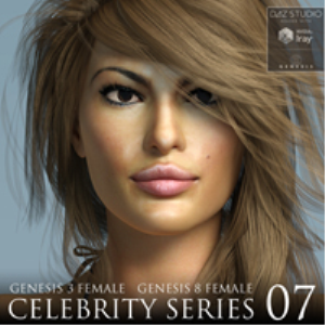 Celebrity Series 07 for Genesis 3 and Genesis 8 Female | Software | Design