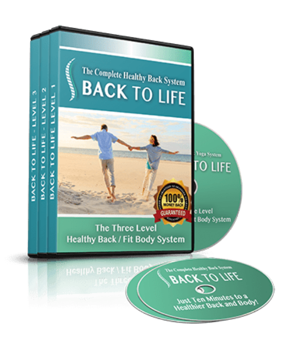 First Additional product image for - back to life,Back to Life - 3 Level Healthy Back System