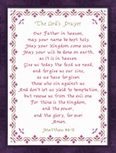 the lords prayer nlt