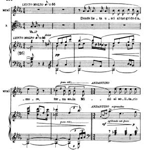Donde lieta usci (Aria for Soprano. G. Puccini: La Bohème,  Vocal Score (Ricordi.1896), Italian. | eBooks | Sheet Music
