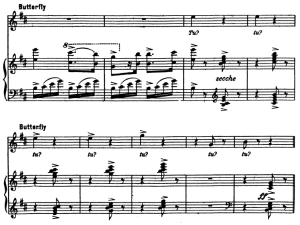 Tu, tu, piccolo iddio Aria for Soprano. G. Puccini: Madame Butterfly, Vocal Score, Ed. Kalmus Italian. | eBooks | Sheet Music