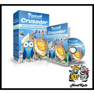 tweet crusader - ebook, videos, software and more