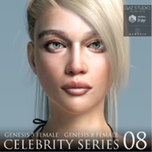 Celebrity Series 08 for Genesis 3 and Genesis 8 Female | Software | Design