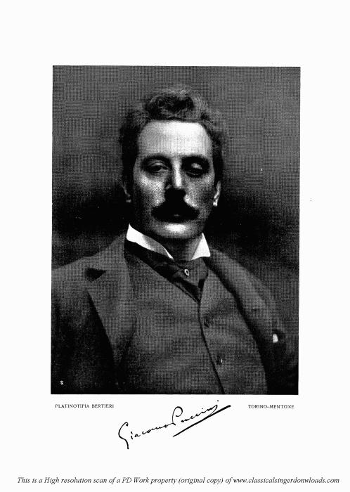 Second Additional product image for - Io de' sospiri, Aria for Tenor. G. Puccini: Tosca, Vocal Score (Ricordi), Italian.