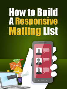 build responsive mail list plr