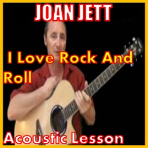 Learn to play I Love Rock And Roll by Joan Jett | Movies and Videos | Educational