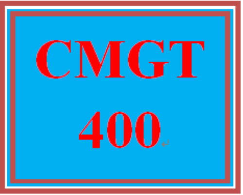 First Additional product image for - CMGT 400 Week 4 Individual: The Role of Information Security Policy