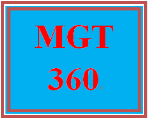 MGT 360 Week 5 Sustainability Strategy: Integration of the Three Pillars Paper | eBooks | Education