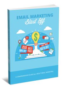 e-mail marketing blast off