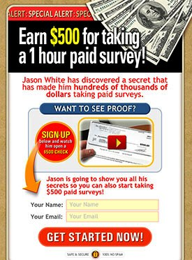 Take Surveys For Cash - #1 Paid Survey Site On CB (view mobile)