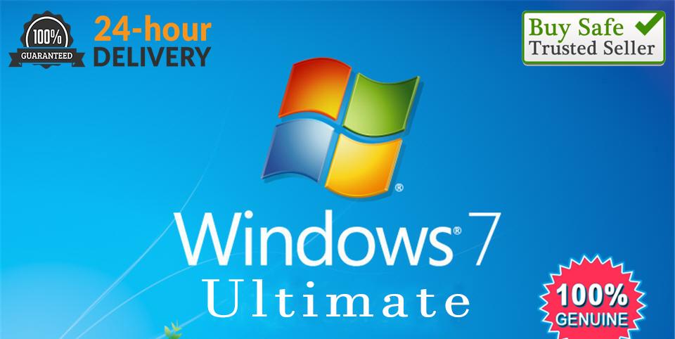 Microsoft Windows 7 Ultimate Genuine License Key 32 bit ...