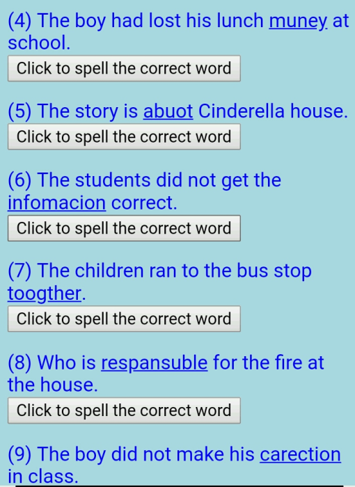 Third Additional product image for - Spelling App Quiz