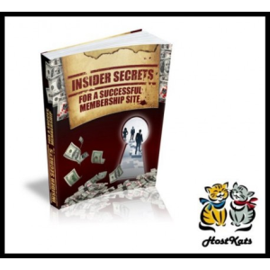 Insider Secrets For A Successful Membership Website | eBooks | Reference
