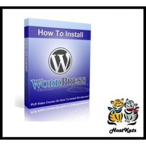 How To Install WordPress - Video PLR | Movies and Videos | Training