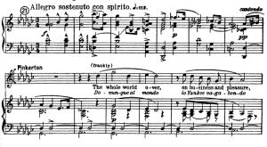 Dovunque al mondo, Aria for Tenor, G. Puccini,  Madame Butterly, Ed. Kalmus. Vocal Score, Engl/It. | eBooks | Sheet Music