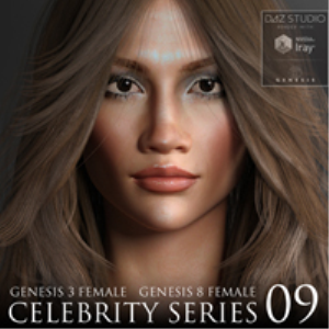 Celebrity Series 09 for Genesis 3 and Genesis 8 Female | Software | Design
