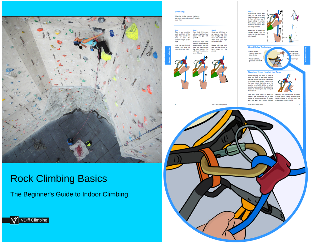 First Additional product image for - VDiff Rock Climbing Basics
