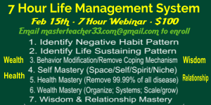 7 hour life management system (basic)