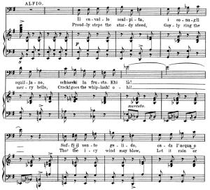 Il cavallo scalpita. Aria for Baritone. P. Mascagni: Cavalleria Rusticana, Vocal Score, Ed. Schirmer. 1891. Italian/English | eBooks | Sheet Music