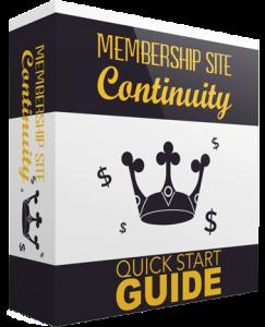 membership site continuity guide