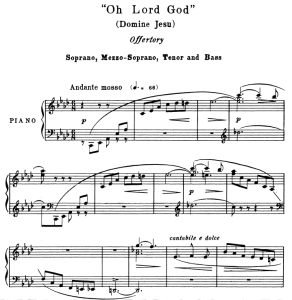 3 offertorium: domine jesu and hostias, satb soloists. g.verdi requiem ed. schirmer (1895).  vocal score, italian/english