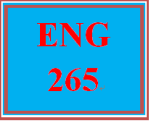 ENG 265 Week 3 Theme and Characterization Critique | eBooks | Education