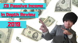 The CB Passive Income For 2019 | eBooks | Business and Money