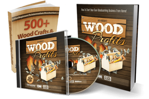 First Additional product image for - Woodprofits - $80 Per Sale With 3 Upsells! - 11% Conversions!