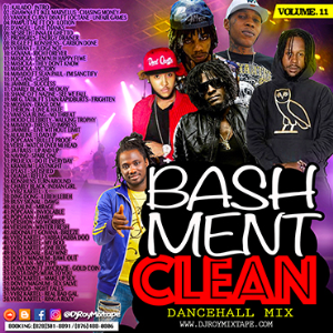 dj roy bashment clean dancehall mix vol.11