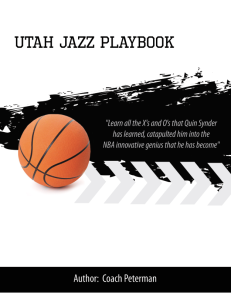 Utah Jazz Playbook | eBooks | Sports