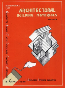 Architectural Building Materials | eBooks | Architecture