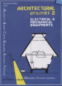 Electrical and Mechanical | eBooks | Architecture