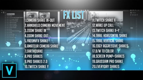 Fourth Additional product image for - Sony Vegas Mini Shakes Pack By Pro Edits