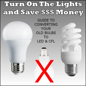 consumer guide: turn on the lights and save money