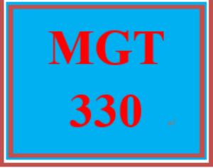 MGT 330 Week 2 Management Planning | eBooks | Education