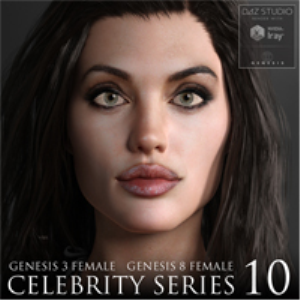 Celebrity Series 10 for Genesis 3 and Genesis 8 Female | Software | Design