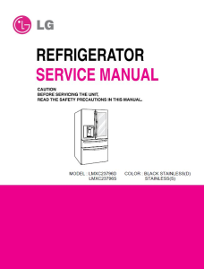 lg lmxs30796s lmxc23796d refrigerator service manual and repair instructions