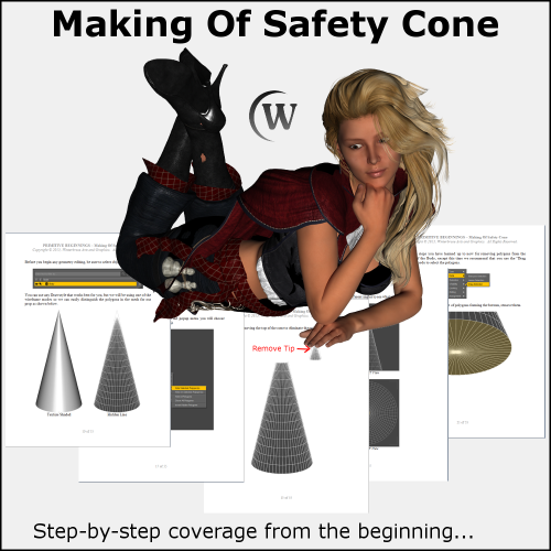 First Additional product image for - MAKING OF: Safety Cone 3D Model for DS4