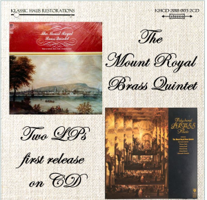 The Mount Royal Brass Quintet - 2-CD Set | Music | Classical