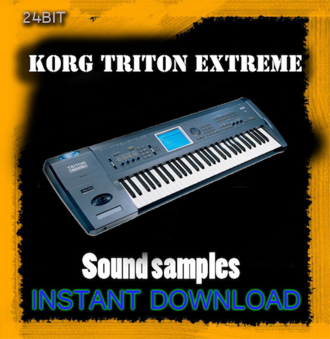 First Additional product image for - Korg Triton Extreme sound Library