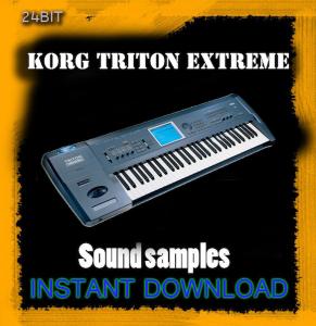 korg triton extreme sound library