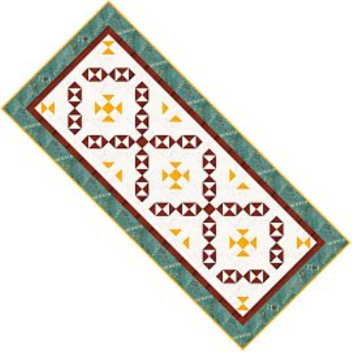 First Additional product image for - Colors of Fall Tablerunner