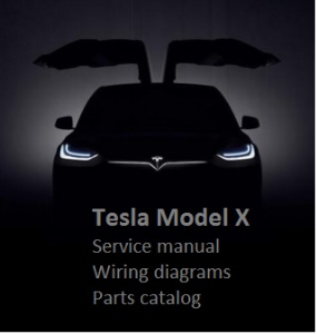 Tesla Model X Service Manual Wiring diagrams Parts catalog | Documents and Forms | Manuals