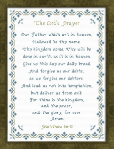 the lords prayer kjv