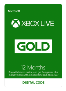 Xbox one Live 12 months | Software | Games