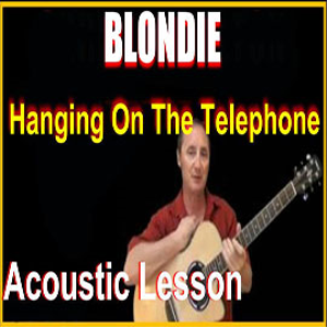 learn to play hanging on the telephone by blondie