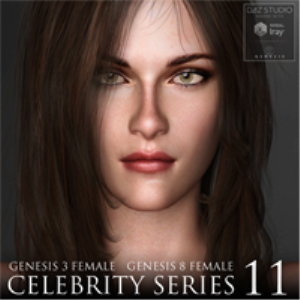 Celebrity Series 11 for Genesis 3 and Genesis 8 Female | Software | Design